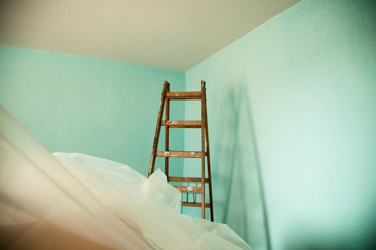 How To Paint A Room In Two Different Colors Divided Wall