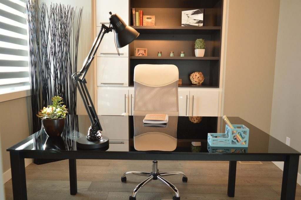 Home office home decor writing desk