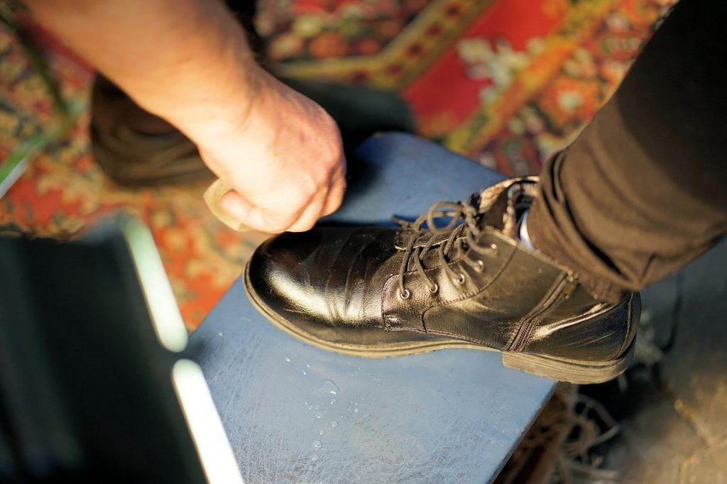 Shoe Shoe Cleaning Leather