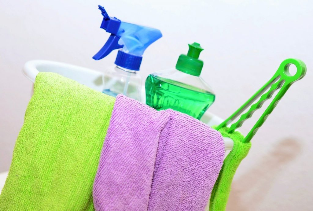 clean cleaning products cleaning rags