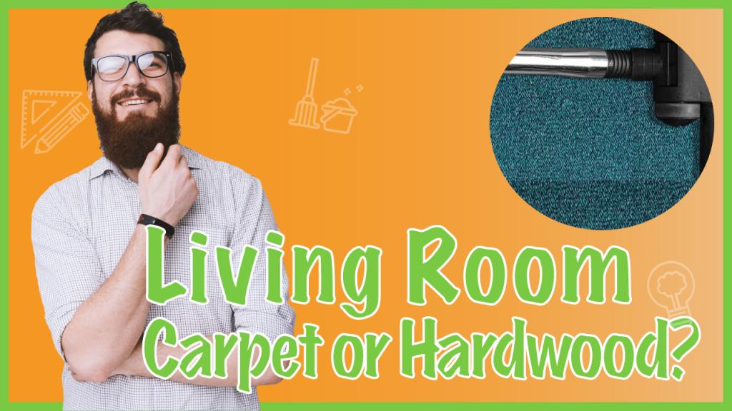 carpet or hardwood flooring in living rooms?