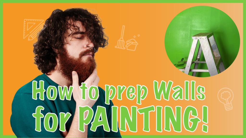 prepairing for paint